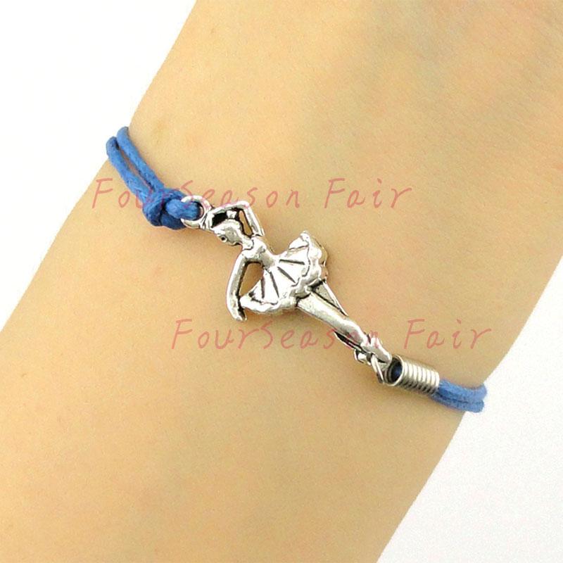 Ballet Charm Bracelet: Custom Newest Simple Ballet Dacer Charm Bracelet & Bangles
