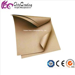 80g,90g,100g,110g,120g brown/white bleached coated kraft paper for packing