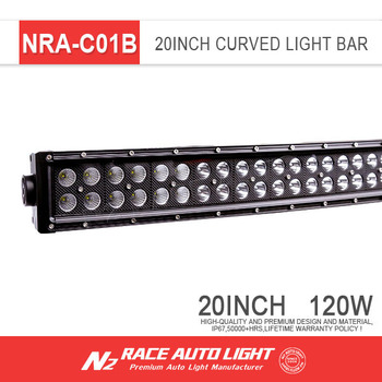 N2 Best Selling Side By Side Utv Parts Ip67 20 Inch Led Light Bar Dual Row  120w For Kawasaki Mule Pro Fxt - Buy Pro Fxt Led Light Bar,Light Bar For