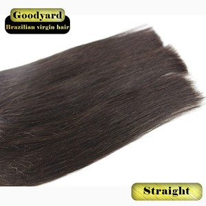 100 percent indian remy human hair raw virgin silk straight hair weaving