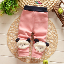 2016 new winter Baby girls Infant Fashion cotton Leggings Korean girls trousers B043