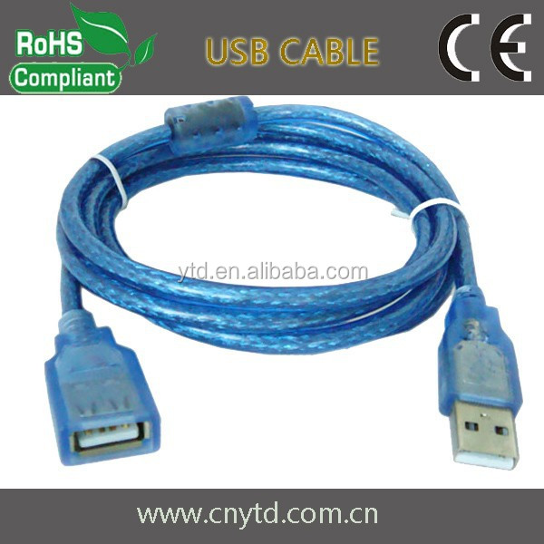 USB cable am to af computer wholesale alibaba usb extension data cable