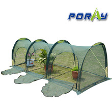 Poray Garden 300cm*100cm*100cm Easy Shade Net Grow Tunnel Garden covering nets garden netting