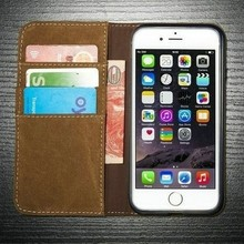 2017 New Products Mobile Phone Accessories Case Wallet Leather Case For Iphone 7