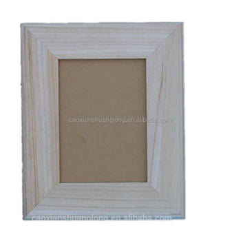 Home decoration MDF Handmade Wooden photo frames at any size