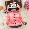 2016 Children Outerwear cotton winter Hooded coats Winter Jacket Kids Coat children s winter Girls clothing