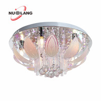 2016 new style k9 crystal ceiling light fixtures , light fixture of ceiling , ceiling mount led fixture