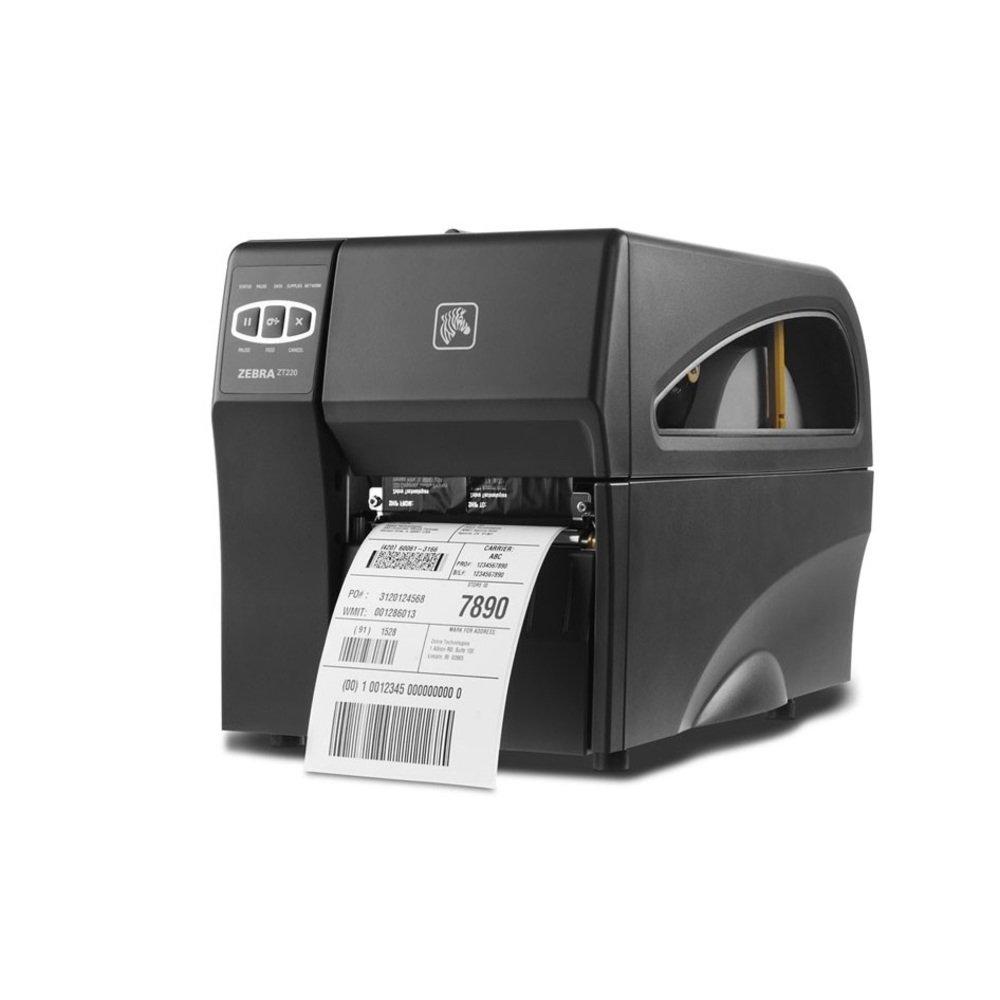 "Zebra Technologies ZT41043-T310000Z Series ZT410 4"" DT/TT Tabletop Printer, 300 dpi Resolution, Tear Bar, Power Cord with US Plug, USB 2.0/RS-232 Serial/10/100 Ethernet, Bluetooth 2.1, EZPL"