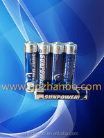 LR03 AAA 1.5v alkaline battery for mini speaker box