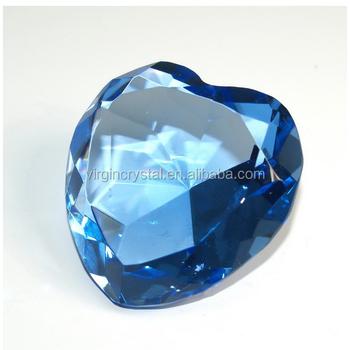 Blue Crystal Diamond Wedding Favors