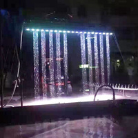 2017 fashion wedding decoration digital water printer curtain