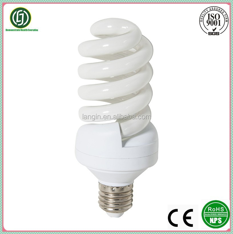 Ce Iso9000 Full Spiral Cfl Light Bulb With Price