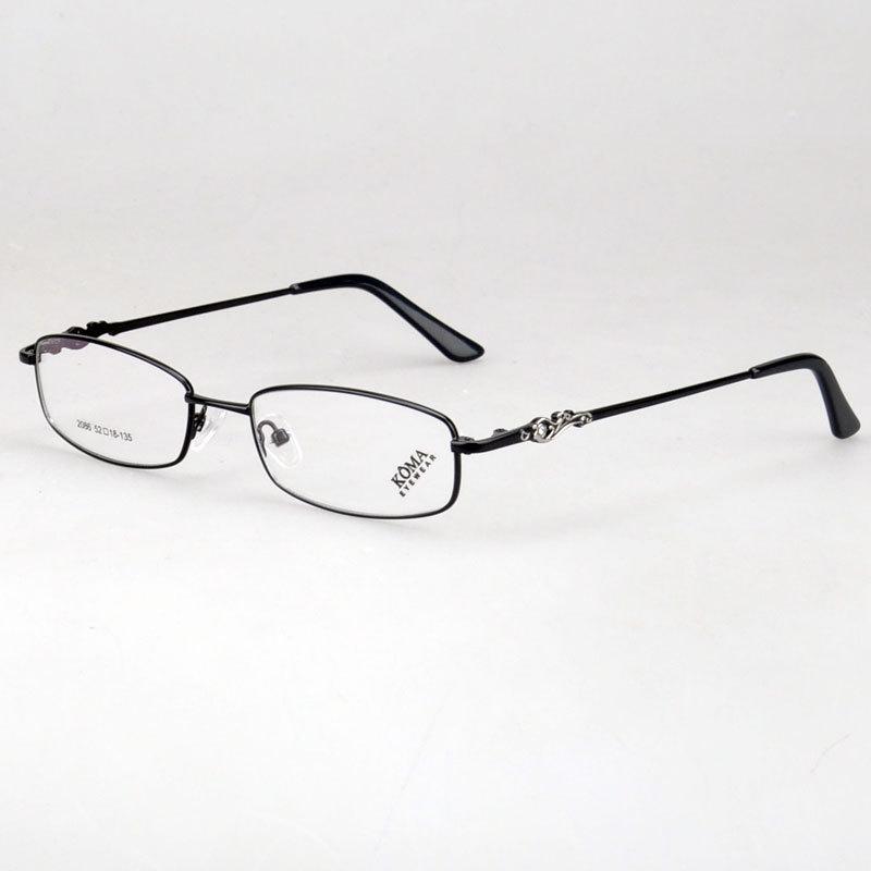 bfb3451aeb2 Get Quotations · Free shipping new fashion full rim women s eyeglasses  metal optical frame 2086