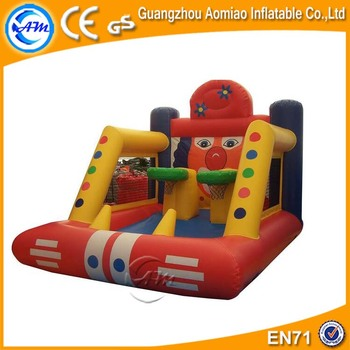 customised inflatable basketball shoot toy inflatable basketball