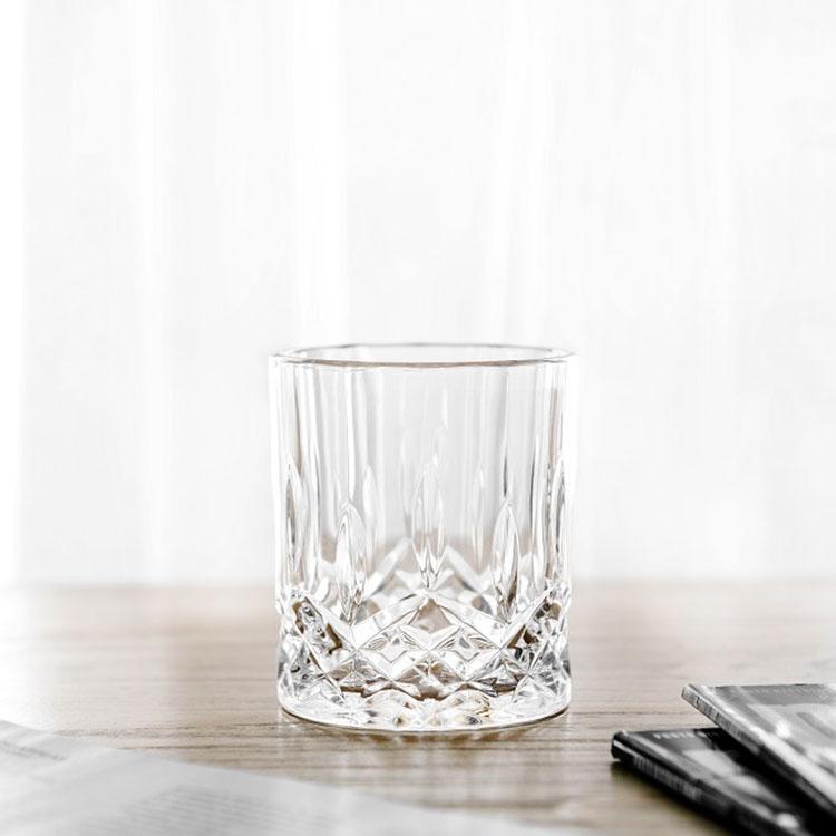 Горячая продажа бессвинцовый Кристалл Двойной Старомодный стакан виски стекло