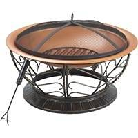 Do It Best Global Sourcing: 30 Inches Steel Copper Firepit Ft-114(2) 2Pk