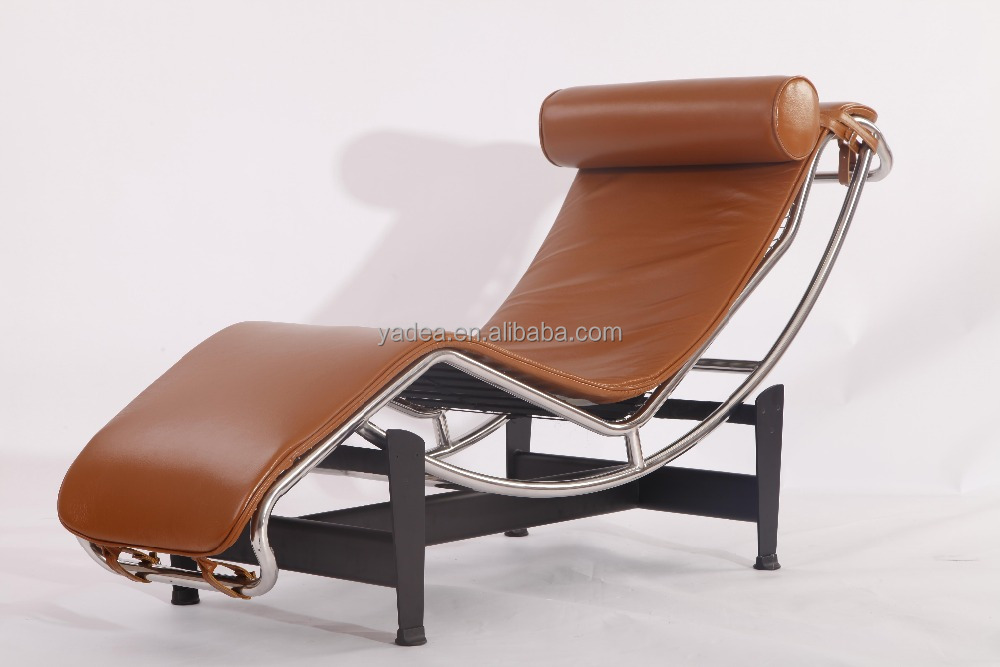 le corbusier m bel produktion cognac braun anilinleder lc4 chaiselongue wohnzimmer sessel. Black Bedroom Furniture Sets. Home Design Ideas
