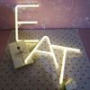 Warm White Fairy Holiday Letter Sign alphabet Neon Light With USB Powered Best For Christmas Party Hoom Decoration