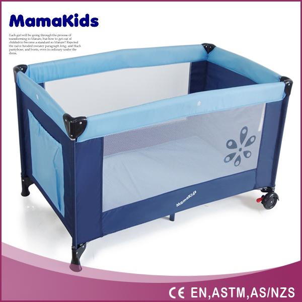 diseo de moda porttil plegable beb parque infantil con cama barandilla de seguridad beb cuna de