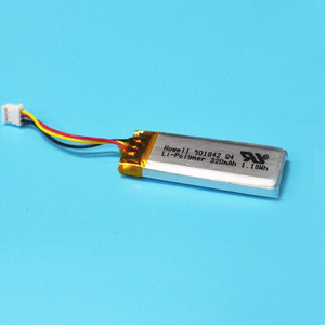 Rechargeable 501842 3.7V 320mAh MP4 Li-polymer Battery For Medical Devices