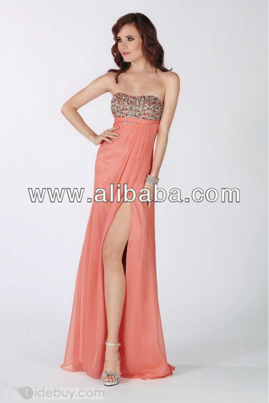 Product Largo Vestidos On Para Niña Buy Yeymy Coral Vestido A1309 84anqxS7