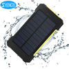 Factory wholesales price CE Rohs FCC Dual USB Charger Waterproof Solar Powerbank