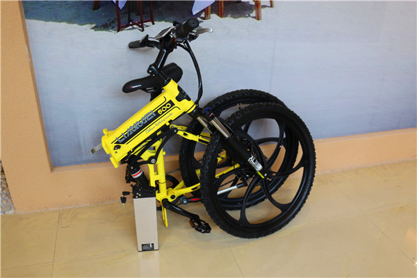 battery inside frame with shining color e-bicycle