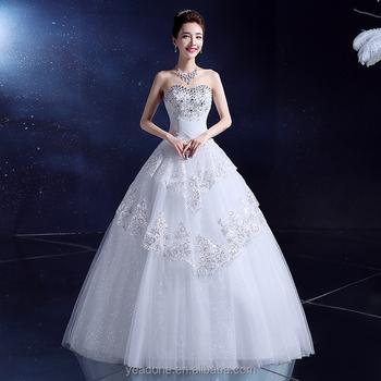 aa242cf226 China fábrica de vestido de boda venta al por mayor rojo y blanco con  cuentas vestidos
