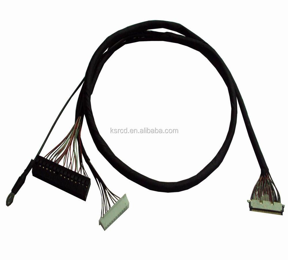 20 50 40 pin LVDS Cable/Audio Video Cables for LCD Panel