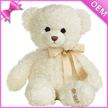 cute teddy bears with ribbon white teddy bears bulk 50 cm teddy