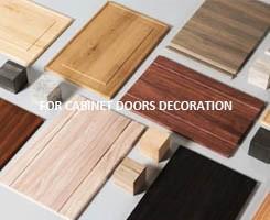 wood grain lamination decorative pvc film for door
