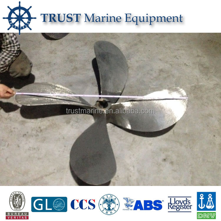 Used stainless steel/bronze boat/ship propeller for decoration