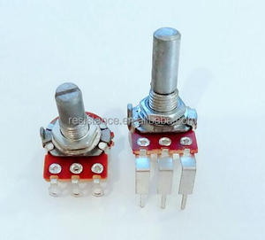 16mm Metal Shaft Carbon Rotary Potentiometer