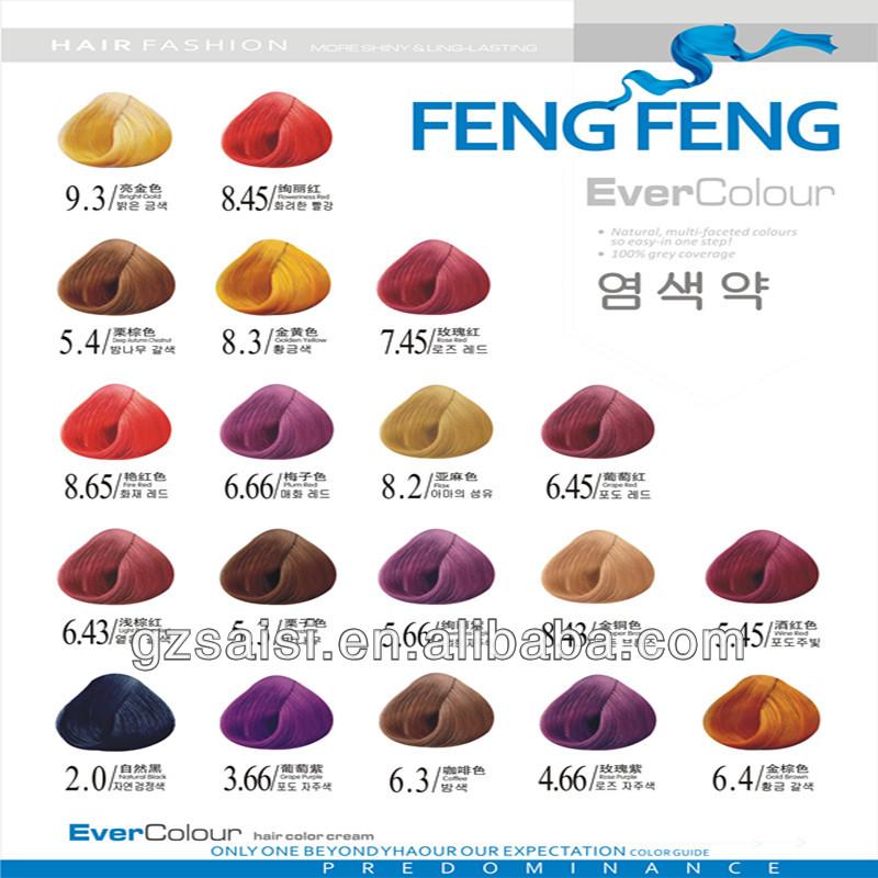 Hanzhixiu Hair Dye Color Chart Buy Hair Dye Color ChartHair Dye – Hair Color Chart