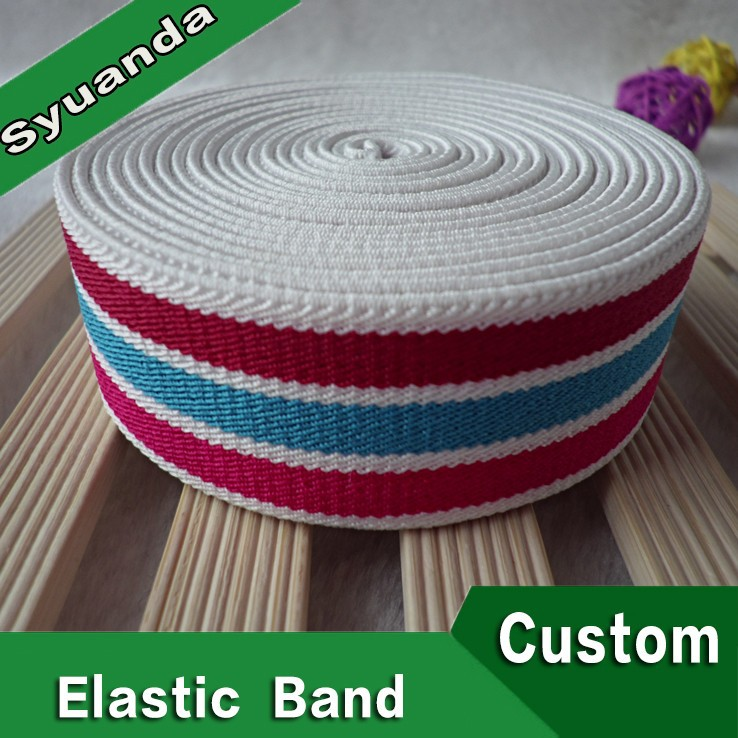Good Quality Polyester Wide Woven Twill Elastic Tape