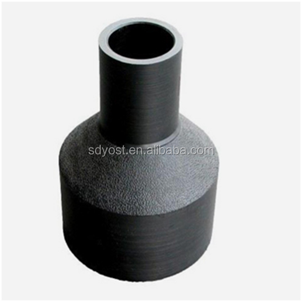factory price hdpe pipe fittings reducing coupler and pipes