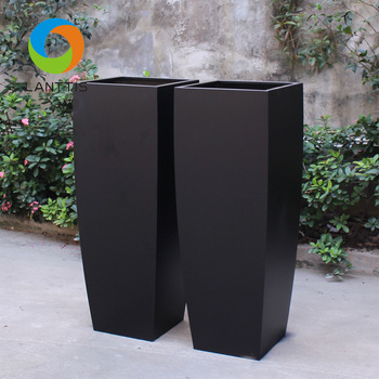 Wholesale Chinese Outdoor Home Goods Flower Pots Buy Black