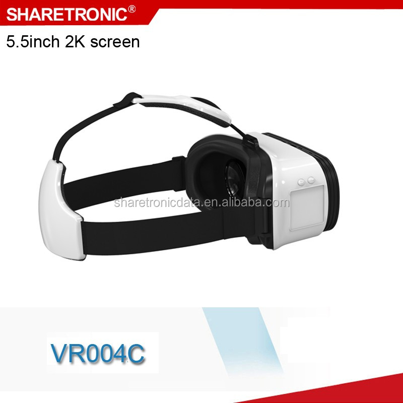 High performance Qualcomm Snapdragon S820 3d vr glasses with OEM service