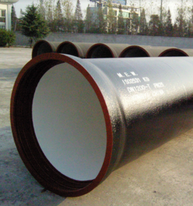 800mm black water pressure ductile iron pipe class k9 composite manhole cover