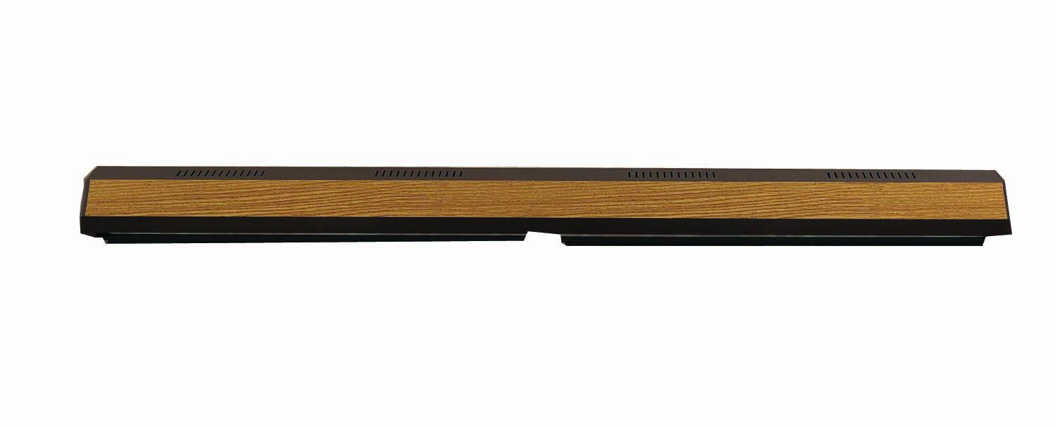 Perfecto Manufacturing APF26483 Marineland Fluorescent Perfect-a-Strip Deluxe Light Reflector for Aquarium, 48-Inch, Oak