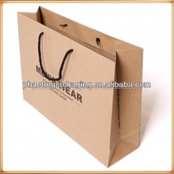 250GSM C2S Art Paper bag matt lamination bags Top and bottom reinforcement 350GSM grey back shopping bags