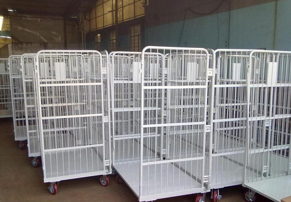 WUHAO Roll Cage Trolley Container