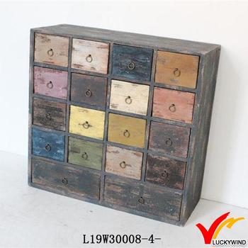 Colored Small Wood Drawers Living Room Decorative Cabinets Buy