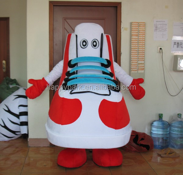 best price good quality custom mascot costume shoes