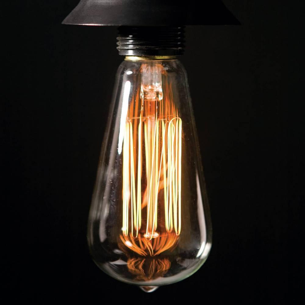 Teardrop st64 william and watson vintage edison bulb industrial light - Home Decor St64 Edison Bulb 40w Vintage Edison Light Bulb Led Filament