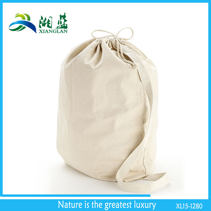 Home Storage Canvas Laundry Bag With Handle Buy Laundry