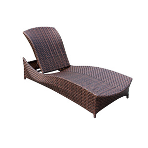 Outdoor furniture lounge poolside sunbed rattan day bed