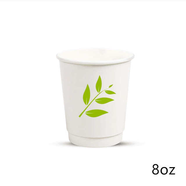 Eco friendly disposable coffee cups disposable coffee cups paper hot cups with lids