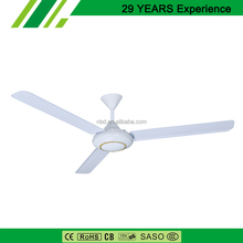 High Efficiency Outdoor Ceiling Fan With High Stainless Iron