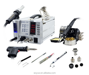 4 in 1 soldering station AOYUE 2703A+ SMD Hot Air Rework Station